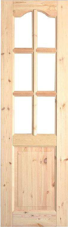 двери входные из массива сосны дешевые под стекло